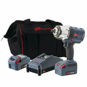 Ingersoll Rand 7152 K22 20v 12 Brushless High Torque Impact Wrench With2 Battery