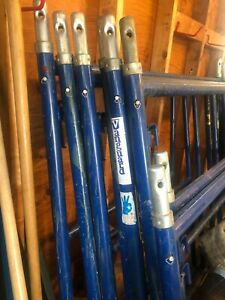 Vanguard Scaffolding 3 5 Foot Sections 1 4 Foot Section Wheels 3 Planks