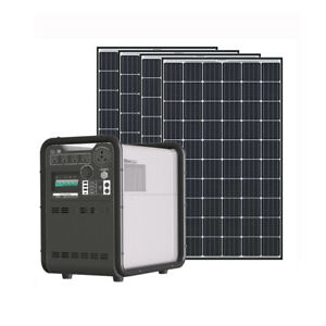 Complete kits Hysolis 3KW Solar Generator 4.5 KWh lithium battery 1240W PV Power $5099.00