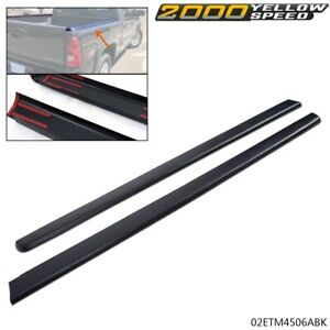 Truck Bed Cap Molding Rail Cover Fit For 99 07 Silverado Sierra 6 5ft Bed Us