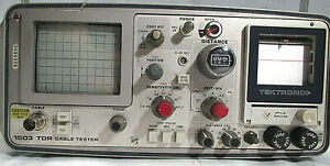 Tektronix 1503 Tdr Cable Tester For Parts Repair