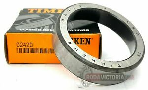 Timken Part 02420 Tapered Roller Bearing Single Cup Same Day Shipping