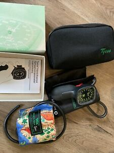 Welch Allyn Tycos Hand Aneroid Sphygmomanometer Gauge With Cuffs And Bag