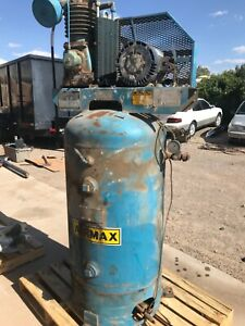 Airmax Air Compressor 5 0 Hp 3 Phase Electrical Used
