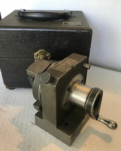 Harig Grind All No 1 Rotary V block Fixture W Case