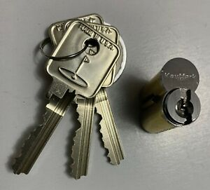 Genuine Original Key Mark Ic Medeco Bkd Removeable Core With 3 Working Keys New