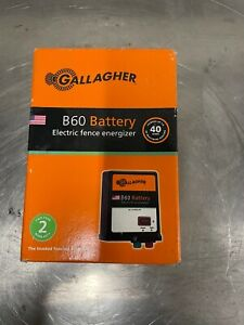 Gallagher Electric Fencing B60 Battery Fence Energizer Charger