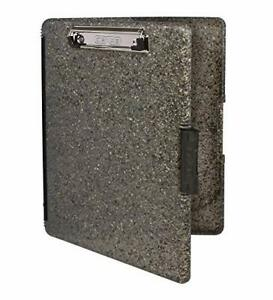 Dexas Slimcase 2 Storage Clipboard With Side Opening Heavy Granite