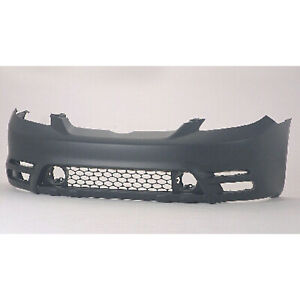 To1000236 New Replacement Front Bumper Cover Fits 2003 2004 Toyota Matrix
