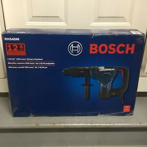 Bosch 1 9 16 Sds max Corded Combination Rotary Hammer Drill 12a Demolition New