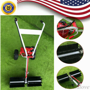 Sweeper Machine 2 strock 43cc Portable Gas Power Broom For Artificial Turf