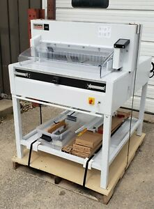 Triumph 6655 By Mbm 25 1 2 Programmable Cutter With Automatic Clamp