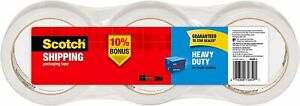 Scotch Heavy Duty Packaging Tape 1 88 X 54 6 Yd Designed For Packing Shipping