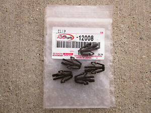 Fits 79 83 Toyota Pickup Front Radiator Grille Retainer Clips Qty 5 Oem New