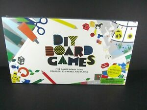 New DIY Board Games by Magma for Laurence King Kids Create Own Fun Family Craft $24.95