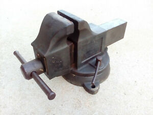 Parker 4 Swivelling Bench Vise Union Mfg Co New Britain Conn