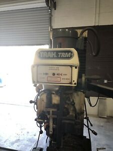 Southwestern Industries Trak Trm 2 axis Cnc Bed Mill With Fixture Accessories
