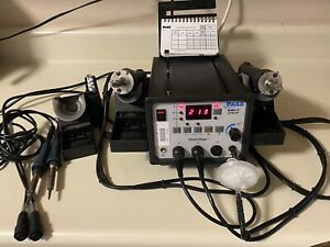 Pace Mbt 250 sdptrework System With Soldering Iron Desoldering Iron