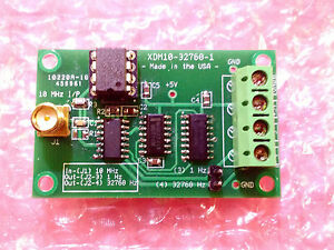 Precision Frequency Divider 10 Mhz To 32768 Hz 1 Hz For Frequency Standards