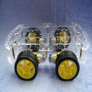 Smart Robot Car Kit Intelligent Car Chassis For The Raspberry Pi