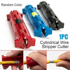 Pliers Electrical Wire Cable Stripper Machine Coaxial Pen Rotary Common Cutter