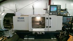 Milltronics Tl14 Cnc Lathe With Tooling 8 Position Turret