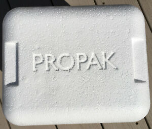 Propak Insulated Shipping Box Cooler Styrofoam Container Perishable Chiller Gift