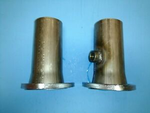 3 Header To 2 50 Od 3 Bolt Collector Reducers W 02 Bung Gasket Style Usa