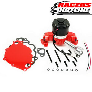 Racers Hotline Ford 302 351w Sbf Racing Electric Water Pump Red