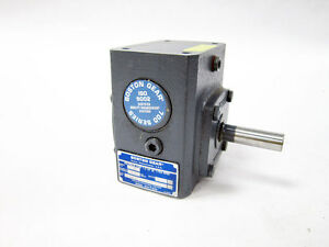 Boston Gear 713 5 g Right Angle Worm Gear Speed Reducer