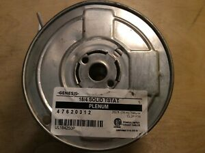 Genesis 18 4 Solid Tstat Plenum 250 Ft Thermostat Cable Cl2p Ft6