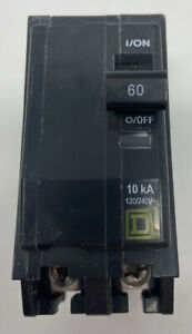 Square D By Schneider Electric Qo260cp Qo 60 Amp Two pole Circuit Breaker New