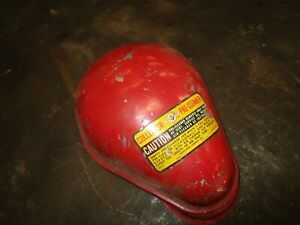 International Farmall Glass Jar Pre cleaner Top Nos Fits 3 Pipe Antique Tractor