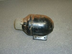 Vintage Echlin Ignition Coil Ic55 6 Volt Beehive Hand Grenade Finned Street Rod