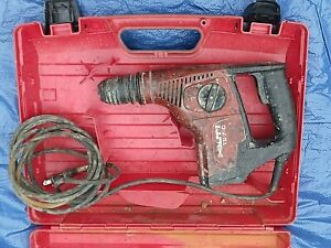 Hilti Te 7 c Rotary Hammer Drill With Case Free Shipping