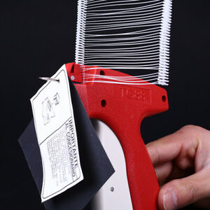 New Clothing Price Label Tagging Tag Gun With 1000 Barbs 5 Needles