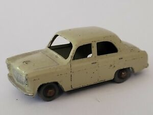 Matchbox No 30a Ford Prefect Grey Brown With Grey Plastic Wheels Gpw
