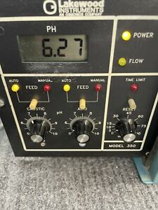 Lakewood Instruments Chemical Feed Pump Ph Controller Model 350 350 39f