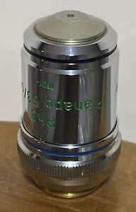 Zeiss 46 18 41 Ph3 Planapo 63 1 4 Oil 160 Phase Contrast Microscope Objective