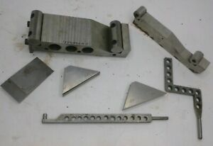 Machinist Tools Lot Sine Bar Parallels Angle Degree Plates