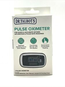 Dr Talbot s Pulse Oximeter For Quick Accurate Oxygen