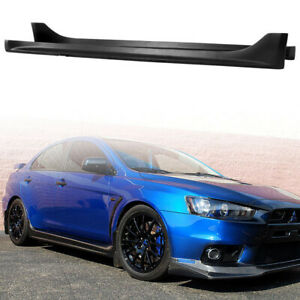 For 2008 2017 Mitsubishi Lancer OE Factory Style Side Skirts Propylene Cover Kit $132.99