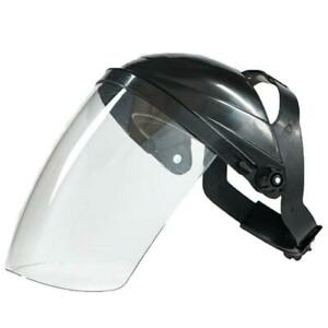 Transparent Safety Full Face Shield Clear Visor Eye Protection Welding Supply