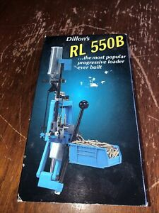 Dillon 550B Video Tape Instruction Manual Good Working Condition As Shown $10.00