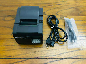 Star Tsp100 Thermal Pos Receipt Printer Usb And Power Cable Fully Tested