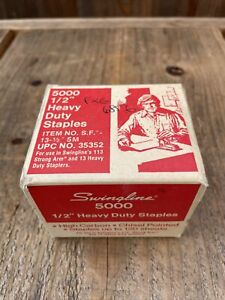 Vintage Swingline 5000 1 2 Heavy Duty Staples 13 1 2 Up To 120 Sheets Usa
