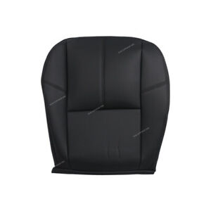 Left Seat Cover Bottom Fit For Chevy Silverado 1500 2500 2007 2013 Black Cover
