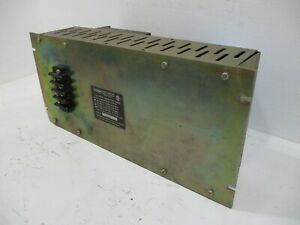 Fisher Controls Type Cp6101 System Power Supply 102 Vac 132 Vac 14a 24vdc Ps