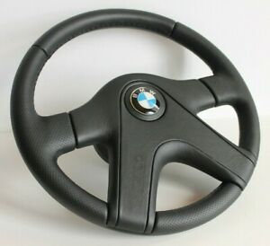 Steering Wheel Fits Bmw Oem Sparco Black Limited Edition Leather E24 E28 E30 E34