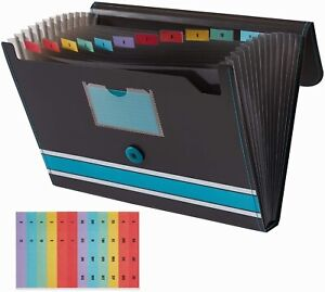 Expanding File Folder With Sticky Labels 13 Pockets File Organizer Accordion